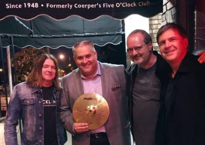 Brad Smith from Hal Leonard Music David Ivan Silbaugh from Summerfest Eric Paiste from Paiste Cymbals